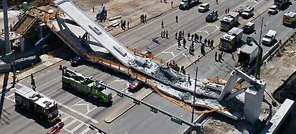 Τραγωδία στη Φλόριντα: Γνώριζαν για ρωγμή στη πεζογέφυρα αλλά δεν έδωσαν σημασία (pics)