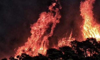 Συναγερμός στην πυροσβεστική και για την Κρήτη-4 φωτιές