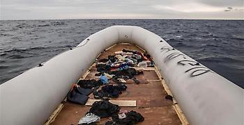 Άκαρπες οι προσπάθειες για τον εντοπισμό των αγνοουμένων του ναυαγίου