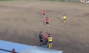 Ποινή 26 αγωνιστικών σε παίκτη στη Βέροια επειδή έβρισε και απώθησε διαιτητή (video)