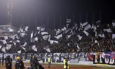 Πανό των οπαδών της Παρτιζάν για τον ΠΑΟΚ! (pic)