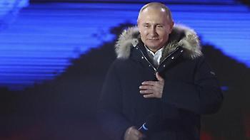Απόλυτος κυρίαρχος ο Πούτιν με 76% - αναλυτικά αποτελέσματα στη Ρωσία