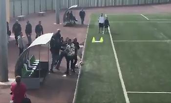 Ξύλο πατέρα 8χρονου με προπονητή στην Ισπανία (video)