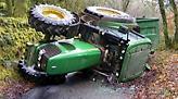 Κρήτη: Νεκρός αγρότης που καταπλακώθηκε από το τρακτέρ του