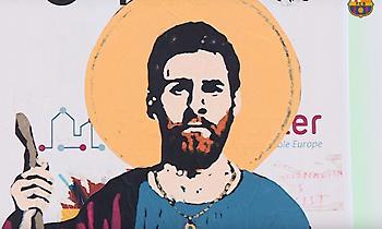 Ο Άγιος Μέσι, προστάτης της Μπαρτσελόνα (video)