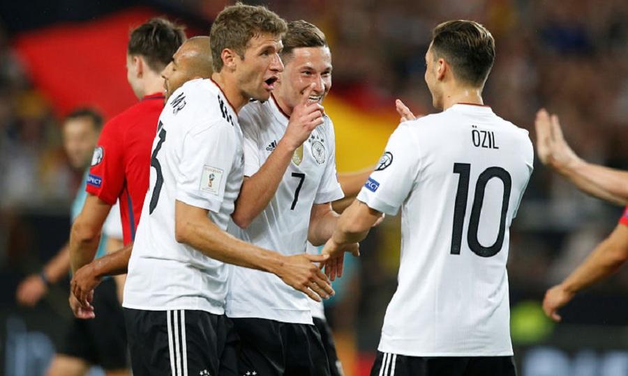 Η δεύτερη εμφάνιση της Γερμανίας στο Μουντιάλ (pics)
