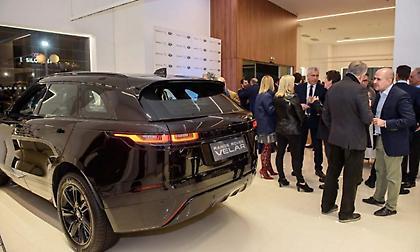 Εγκαίνια για τη Σπανός ΑΕ: Έναρξη συνεργασίας με Jaguar Land Rover