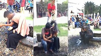Αδιανόητο: Έλουσαν ζευγάρι με λύματα επειδή βρέθηκαν μόνοι χωρίς να είναι παντρεμένοι