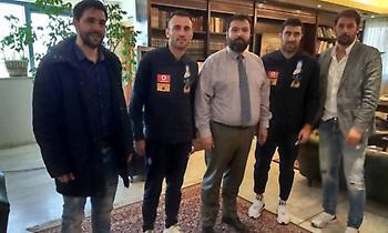 Τα είπε με τους αρχηγούς της Εθνικής ο Βασιλειάδης!