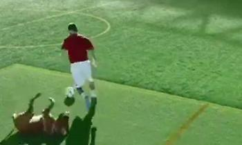 O Μέσι ντριμπλάρει από σκύλο μέχρι μια ολόκληρη ομάδα ράγκμπι και περπατάει σε τοίχο! (video)