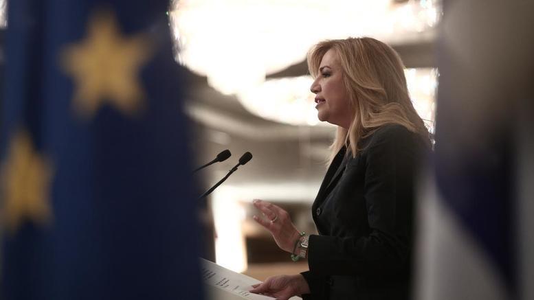 Γεννηματά: Δεν μπορεί να μείνει ουδέτερη η ΕΕ με την Τουρκία