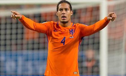 Αρχηγός της Εθνικής Ολλανδίας για πρώτη φορά ο Βαν Ντάικ