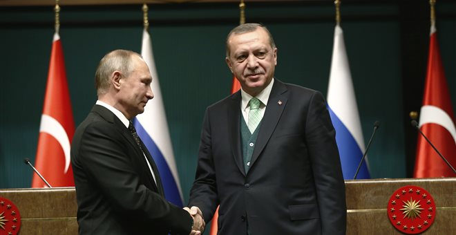 Ο Πούτιν θα θέσει το θέμα της τουρκικής προκλητικότητας στον Ερντογάν