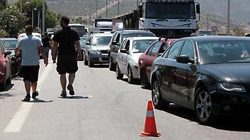 Χαϊδάρι: Κλείνουν για έναν χρόνο δύο λωρίδες στη λεωφόρο Αθηνών