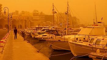 Την 25η Μαρτίου θα «παρελάσει» και η αφρικανική σκόνη