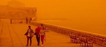Φωτογραφίες-σοκ από το πρωτοφανές φαινόμενο στην Κρήτη: Την κατάπιε η σκόνη (pics)