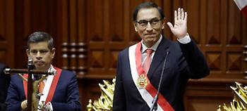 Περού: Ορκίστηκε ο νέος πρόεδρος Μαρτίν Βισκάρα