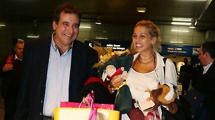 Επέστρεψε στην Ελλάδα η Κωνσταντίνα Σπυροπούλου