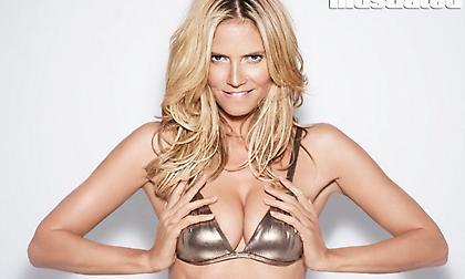 Η «καυτή» Heidi Klum φωτογραφήθηκε γυμνή και έβαλε... φωτιά