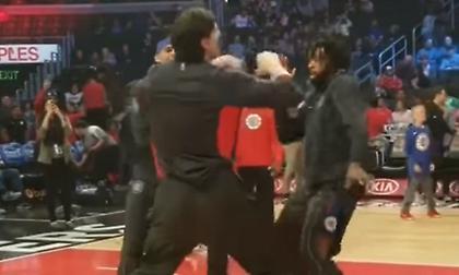 Ο γίγαντας Μαριάνοβιτς χορεύει (video)
