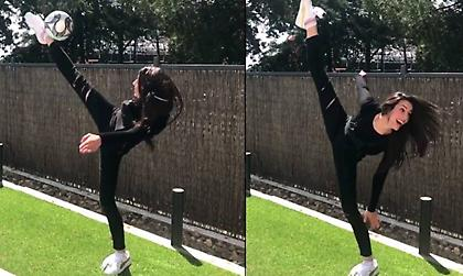 Πρώην Ολυμπιονίκης προσπαθεί να... σκοράρει με ψαλιδάκι αλά  Ρονάλντο (video)