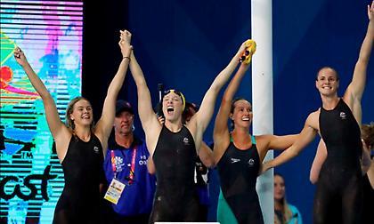 «Έσπασε» τα χρονόμετρα η 4Χ100 κολύμβησης της Αυστραλίας