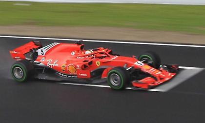 Εντυπωσιάζει και στο Μπαχρέιν ο Φέτελ με την Ferrari!
