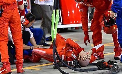 Χειρουργήθηκε ο μηχανικός της Ferrari που πάτησε ο Ραϊκόνεν-Το μήνυμά του (pic)