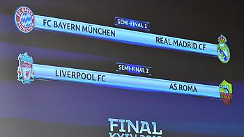 Το ακριβές πρόγραμμα των ημιτελικών του Champions League