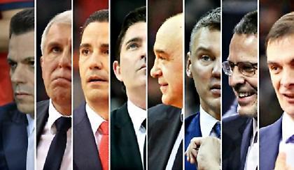 Ψηφίστε τον Προπονητή της χρονιάς στην Ευρωλίγκα (poll)