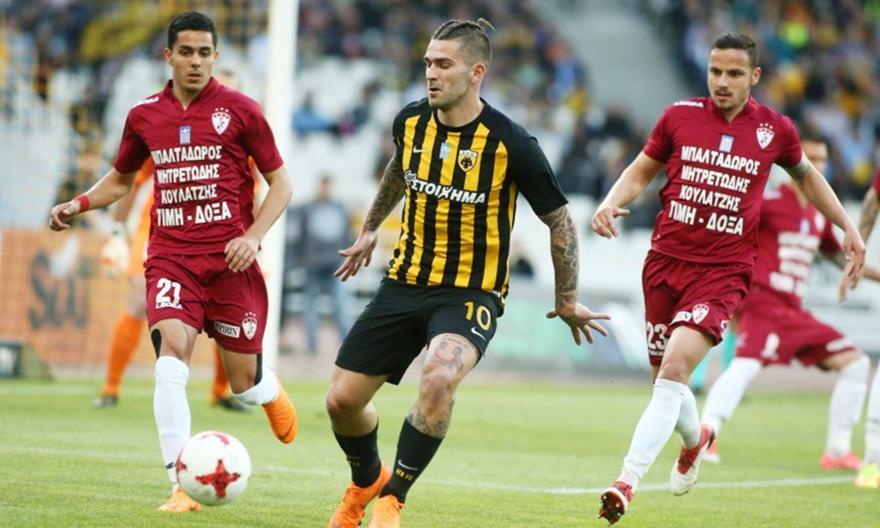 LIVE: ΑΕΚ-Λάρισα 1-0 (ΤΕΛΙΚΟ)