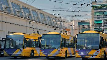 Χωρίς τρόλεϊ για πέντε ώρες την Τετάρτη 25 Απριλίου η Αθήνα