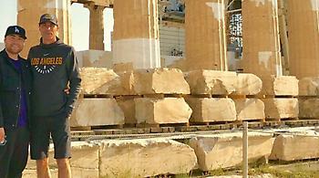 «Μάτια» των Λέικερς στο ΟΑΚΑ και το Παναθηναϊκός-Ρεάλ (pic)