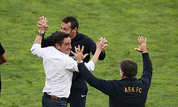 Χιμένεθ στους παίκτες: «Είμαι περήφανος για σας»