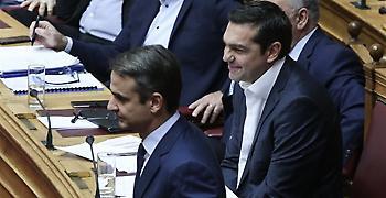 Προβάδισμα 13 μονάδων για ΝΔ έναντι ΣΥΡΙΖΑ δείχνει νέα δημοσκόπηση