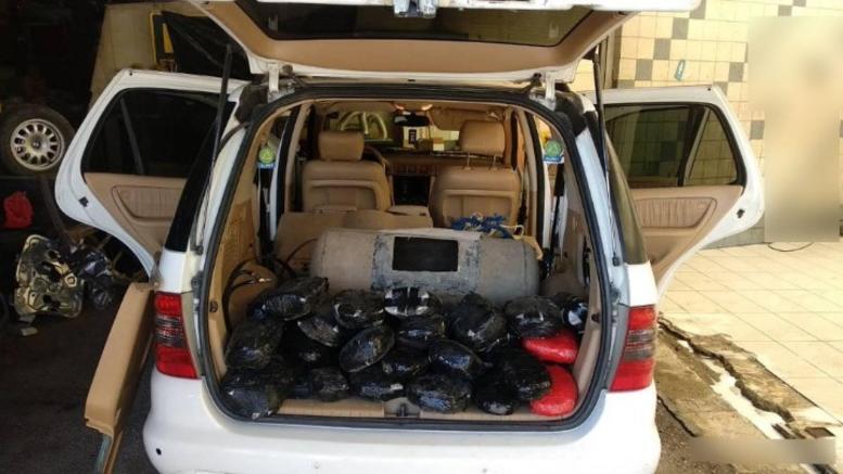 Εκρυβαν στο ρεζερβουάρ 35 πλαστικές συσκευασίες με ναρκωτικά