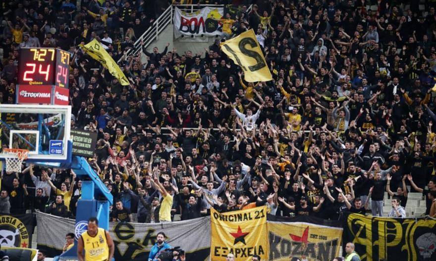 ΑΕΚτσήδικη τρέλα και στο μπάσκετ: Τελείωσαν τα εισιτήρια των 50 ευρώ για το Final-4