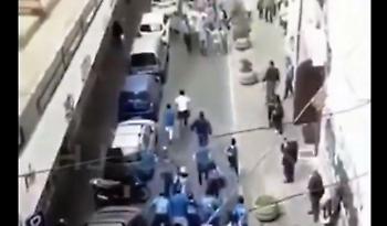 Οπαδοί της Γιουβέντους και της Νάπολι συναντήθηκαν στον δρόμο και… αγκαλιάστηκαν! (video)