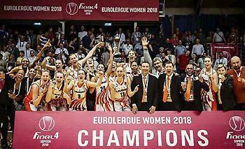 Πρωταθλήτρια Ευρώπης η Εκατέρινμπουργκ