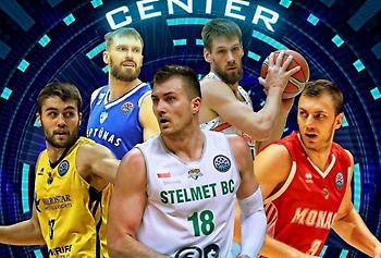 Οι υποψήφιοι καλύτεροι σέντερ στο Basketball Champions League