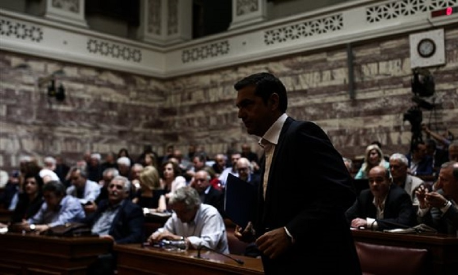 Θέμα συντάξεων και αφορολόγητου έθεσαν με ένταση βουλευτές ΣΥΡΙΖΑ στην ΚΟ