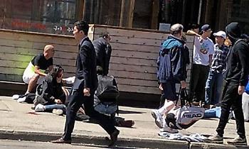 Βαν έπεσε σε πεζούς στο Τορόντο -Παρέσυρε τουλάχιστον 10 (pics/video)