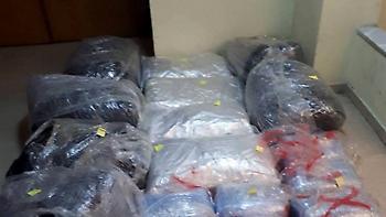 Κομοτηνή: Πήγαν να πουλήσουν 112 κιλά κάνναβης σε αστυνομικούς