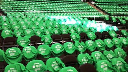 Καταπράσινη και εντυπωσιακή η Zalgirio Arena (pics)