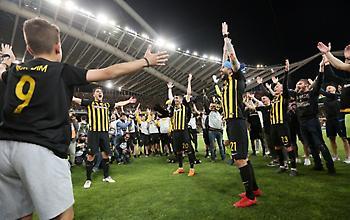 «Τρελάθηκαν» στην Αργεντινή με το γεμάτο ΟΑΚΑ και τα χέρια των παικτών της ΑΕΚ στον κόσμο (video)