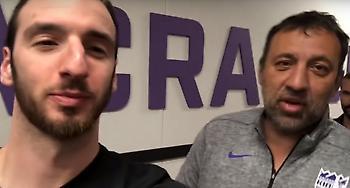 Απίθανος Ντίβατς σε Κουφό: «Έφαγα σαγανάκι χθες» (video)