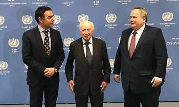 Ολοκληρώθηκε η τριμερής συνάντηση Κοτζιά - Ντιμιτρόφ - Νίμιτς στη Βιέννη
