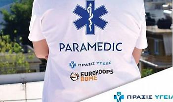 Έναρξη συνεργασίας Eurohoops Dome- Πράξις υγείας