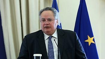 Ο Κοτζιάς ενημέρωσε τον γ.γ. του ΝΑΤΟ για το Σκοπιανό και την Τουρκία