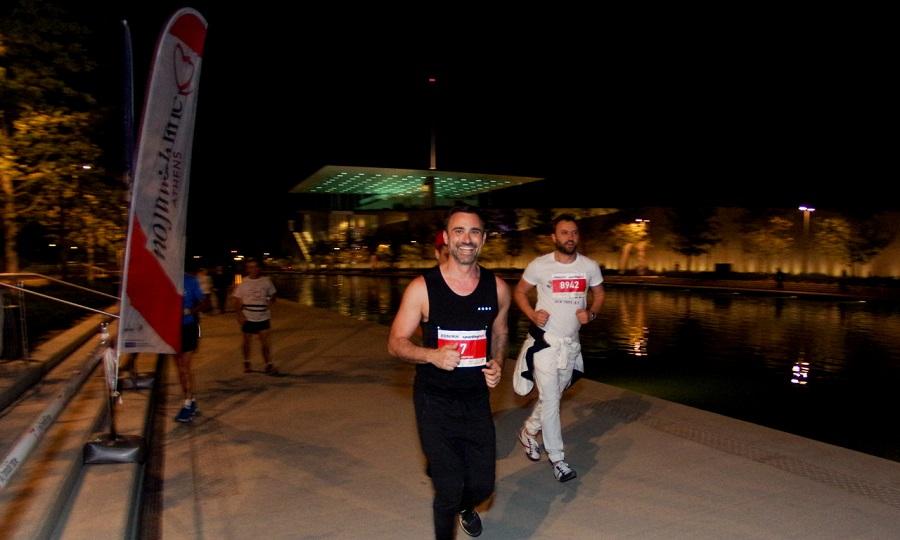 Καπουτζίδης και Αγγέλου έτρεξαν στο Nο Finish Line Athens